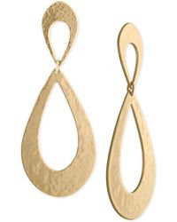 RACHEL Rachel Roy - Gold-tone Drop Earrings - Lyst