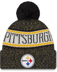 09cf5bcc6d5 Lyst - KTZ Pittsburgh Steelers Slouch It Knit Hat in Gray for Men