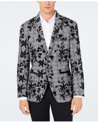 INC International Concepts - Floral Flocked Slim Fit Blazer, Created For Macy's - Lyst