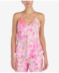 Betsey Johnson - Floral-embroidered Pajama Top - Lyst