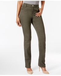 Lee Platinum - Gwen Straight-leg Jeans, Created For Macy's - Lyst