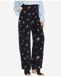 Vince Camuto - Floral-print Wide-leg Trousers - Lyst