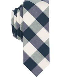 Original Penguin - Men's Mccord Check Skinny Tie - Lyst