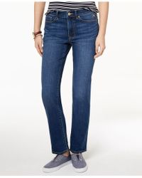 a9815c112 Tommy Hilfiger Pull-on Slim-leg Jeans in Blue - Lyst