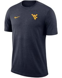Nike - West Virginia Mountaineers Dri-fit Coaches T-shirt - Lyst