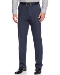 Kenneth Cole Reaction | Stretch Solid Twill Pants | Lyst