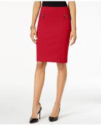 Alfani - Ponte Pencil Skirt, Created For Macy's - Lyst