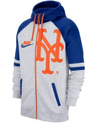 382fdf0a800 Nike New York Knicks City Edition Hoody in Blue for Men - Lyst