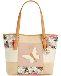 Giani Bernini - Patchwork Tote, Created For Macy's - Lyst