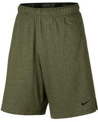 "Nike - 9"" Dri-fit Cotton Jersey Training Shorts - Lyst"