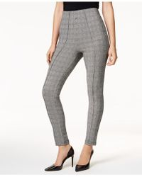 INC International Concepts - I.n.c. Shaping Glen Plaid Smoothing Leggings, Created For Macy's - Lyst