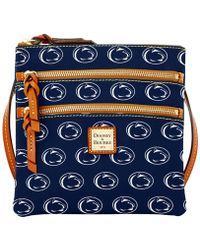 Dooney & Bourke - Penn State Nittany Lions Triple-zip Crossbody Bag - Lyst