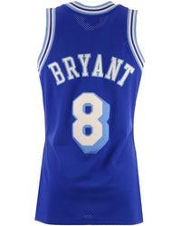83f5f0f7599a Mitchell   Ness - Kobe Bryant Los Angeles Lakers Authentic Jersey - Lyst