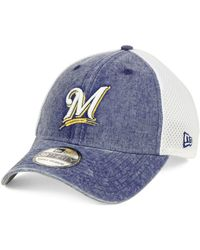 various colors 3be93 f1910 KTZ Milwaukee Brewers Camo Classic 39thirty Cap in Green for Men - Lyst