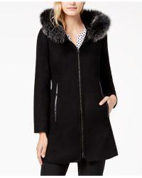 Forecaster - Fox-fur-trimmed Hooded Walker Coat - Lyst