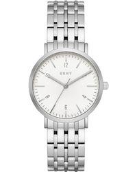 DKNY - Minetta Stainless Steel Bracelet Watch 36mm, Created For Macy's - Lyst