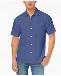 Tommy Bahama - Weekend Topics Silk Shirt - Lyst