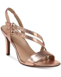 Naturalizer - Kayla Dress Sandals - Lyst