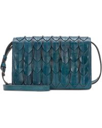 Patricia Nash - Lanza Feather Leaves Leather Crossbody - Lyst
