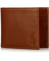 Polo Ralph Lauren - Wallet, Burnished Billfold Wallet - Lyst