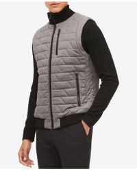 CALVIN KLEIN 205W39NYC - Men's Space-dyed Quilted Vest - Lyst