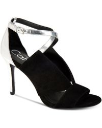 Calvin Klein | Women's Nevah Sandals | Lyst