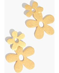 Madewell - Daisy Statement Earrings - Lyst