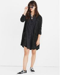Madewell - Donegal Kent Cardigan Jumper In Coziest Yarn - Lyst