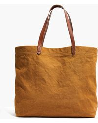 Madewell - The Canvas Transport Tote - Lyst