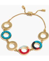 Madewell - Desert Sunset Circle Bracelet - Lyst