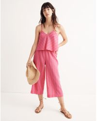 Madewell - Striped Bondi Cover-up Cami Top - Lyst