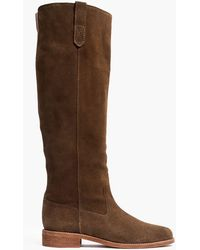 Madewell - The Allie Knee-high Boot With Extended Calf - Lyst