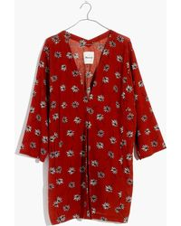Madewell - Pre-order Maldives Cover-up Robe In Fresh Daisies - Lyst