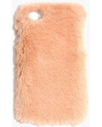 Madewell - Faux-mink Case For Iphone® 7 - Lyst