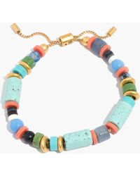 Madewell - Beaded Slider Bracelet - Lyst