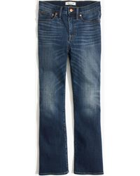 Madewell - Cali Demi-boot Jeans In Danny Wash: ® Edition - Lyst