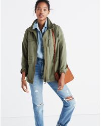 Madewell - Fleet Jacket - Lyst