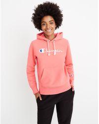 Madewell - Champion® Reverse Weave® Pullover Hoodie Sweatshirt - Lyst