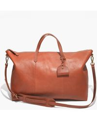 Madewell - The Transport Weekender - Lyst