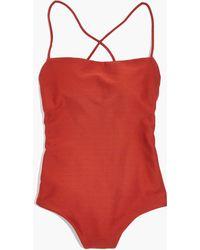 Madewell - Pre-order Mara Hoffman® Olympia One-piece Swimsuit - Lyst