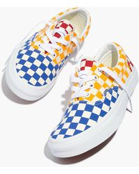 3845e28caeb Madewell - Vans® Unisex Era Lace-up Sneakers In Multi Checkerboard - Lyst