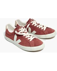 Madewell - X Vejatm Esplar Low Trainers In Suede - Lyst