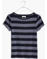 Madewell - Musical Tee In Rugby Stripe - Lyst