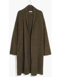Madewell - Rivington Sweater-coat - Lyst
