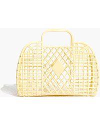 Madewell - Sun Jellies Retro Basket Tote - Lyst