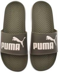 748506b504c3 Puma Popcat Sandals in Black for Men