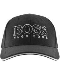 BOSS Athleisure - Boss Green Baseball Cap Us Black - Lyst