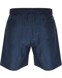 Farah - Colbert Swim Shorts Navy - Lyst