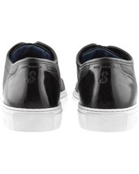 Oliver Sweeney - Sweeney London Barnt Leather Trainers Black - Lyst
