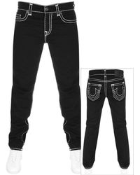 True Religion - Rocco Jeans Black - Lyst